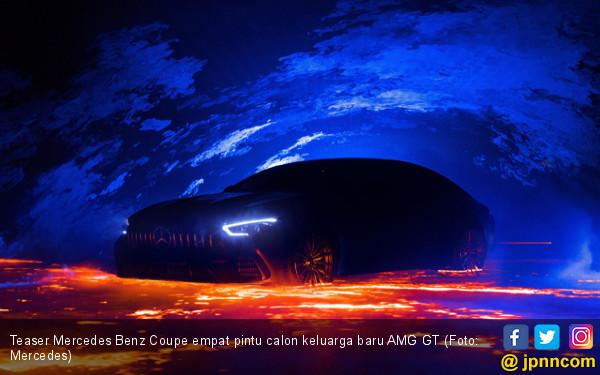 Menanti Sedan Mercedes Benz AMG GT Terkencang - JPNN.com