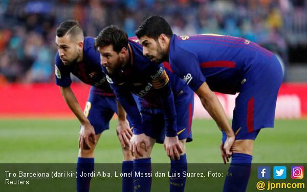 Barcelona Terancam Tanpa Bomber Andalan Lawan Inter Milan - JPNN.COM