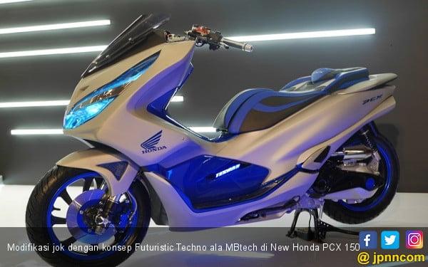 Ini 3 Konsep Modifikasi Jok New Honda Pcx 150 Ala Mbtech Otomotif