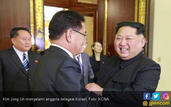 Kim Jong-un Bermanis-manis, AS Tetap Jatuhkan Sanksi - JPNN.COM