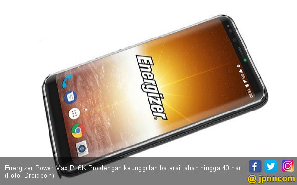 Wow! Smartphone Energizer Bisa Beroperasi Hingga 40 Hari - JPNN.COM