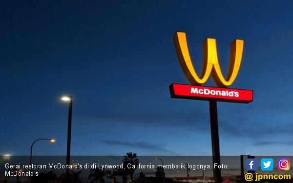 Waduh, 100 Gerai McDonald's di Amerika Terbalik Logonya - JPNN.COM