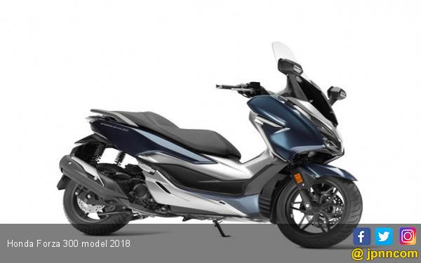 Sebelum ke Indonesia, Eropa Sudah Disapa New Honda Forza 300 - JPNN.com