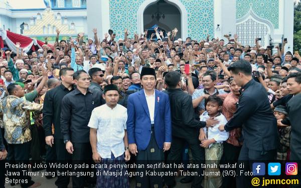 Jokowi: Segera Tuntaskan Sertifikat Tanah untuk Musala dan.. - JPNN.COM