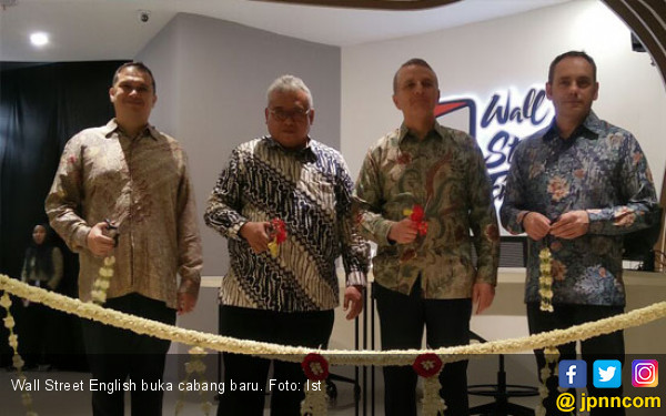 Wall Street English lndonesia Buka Cabang Baru - JPNN.COM