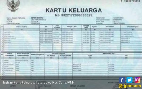PPDB Sistem Zonasi, Periksa Tanggal Pembuatan KK - JPNN.COM