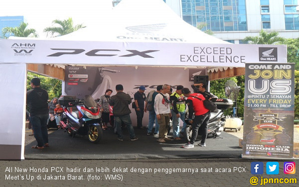 Terjual 4.200 Unit, All New Honda PCX Terus Jalin Keakraban - JPNN.com