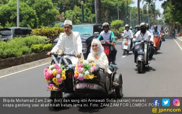 Kisah Cinta Zam Zam dan Arma, Teman tapi Menikah, Selamat ya - JPNN.COM