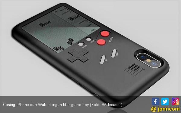 Casing iPhone dengan Fitur Game Boy Jadul - JPNN.COM