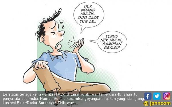 Goyangan Majikan Lebih Jreng, Ogah Pulang - JPNN.COM