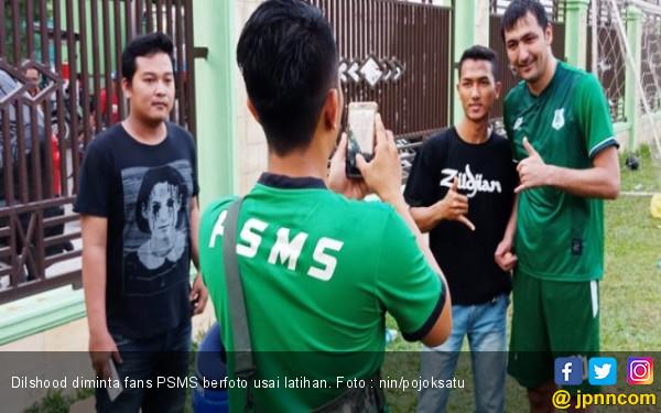 Status Dilshod di PSMS Medan Menggantung - JPNN.COM