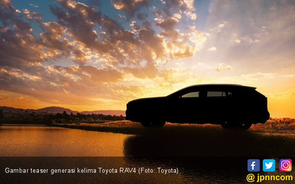 Toyota RAV4 Sudah Generasi Kelima, Indonesia Kapan? - JPNN.COM