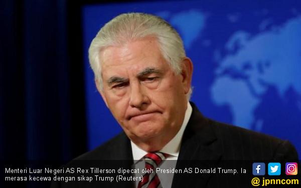 Dipecat dari Kabinet, Ternyata Sering Menghina Trump - JPNN.COM