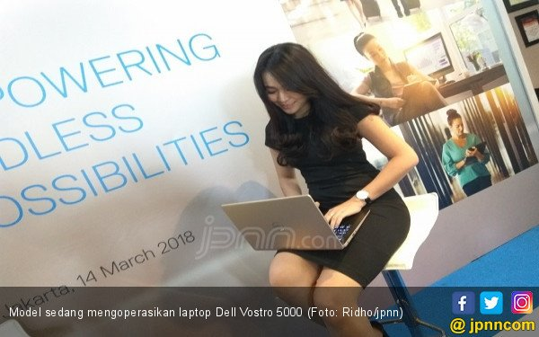 Sasar Profesional Aktif, Dell Rilis Laptop Vostro 5000 - JPNN.COM