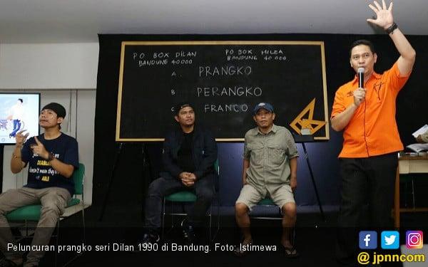 Keren, Pos Indonesia Luncurkan Prangko Seri Dilan 1990 - JPNN.COM