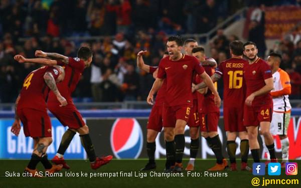 Dzeko jadi Pahlawan, AS Roma ke Perempat Final - JPNN.COM