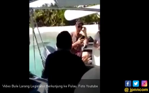 Video Bule Larang Legislator Berkunjung ke Pulau - JPNN.COM