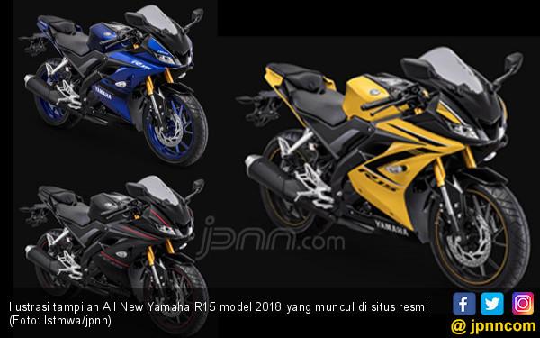 Diam-diam YIMM Buka Tampilan All New Yamaha R15 Model 2018 - JPNN.com