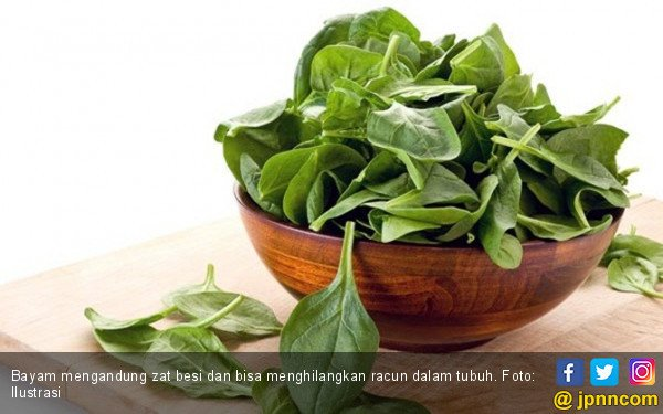 4 Alasan Bayam Disebut Superfood