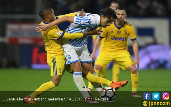 Unggul Segalanya, Juventus Hanya Imbang Kontra SPAL - JPNN.COM