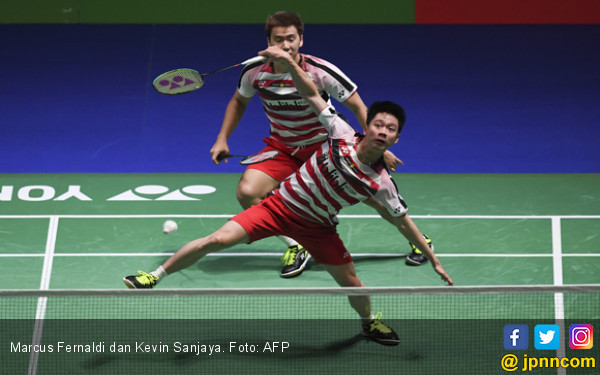 Indonesia vs Kanada: Kok Tidak Ada Marcus / Kevin? - JPNN.com