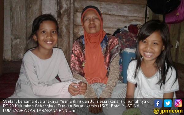 Kisah Saidah, Janda si Guru Mengaji, Hidupi 8 Anaknya - JPNN.COM