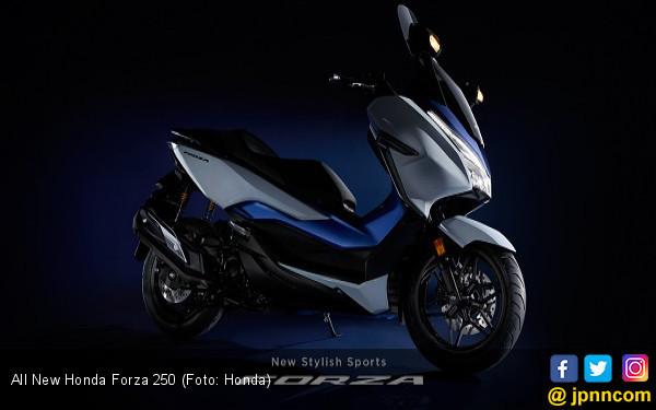 All New Honda Forza 250 Meluncur, Harga Sekitar Rp 89 Jutaan - JPNN.com