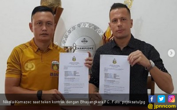 Bhayangkara FC Coret Striker Nikola, Nih Calon Penggantinya - JPNN.COM