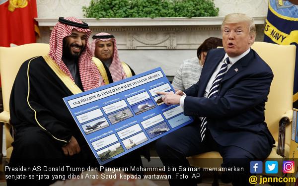 Donald Trump Bikin Pangeran Mohammed Gigit Jari soal Syria - JPNN.com