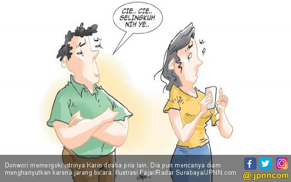 Donwori Memergoki Istri Diraba Pria Lain - JPNN.COM