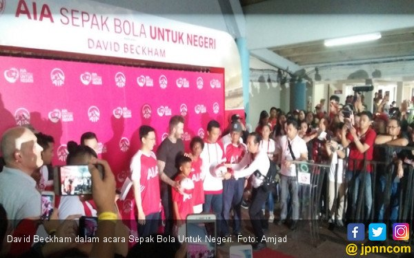 David Beckham Suka Indonesia - JPNN.com