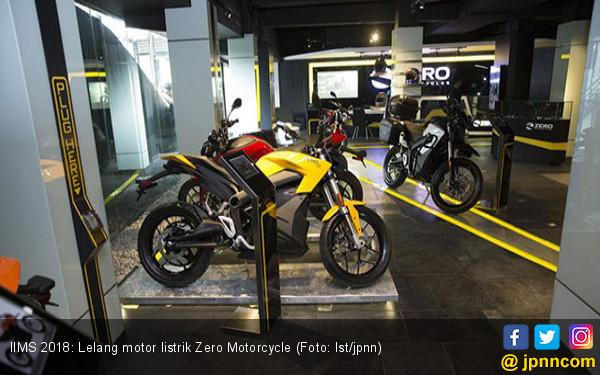 IIMS 2018 Ada Lelang Motor Listrik Zero Motorcycle Rp 1 Juta - JPNN.com
