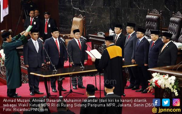 Sah, Pimpinan MPR Jadi 8 Orang - JPNN.com