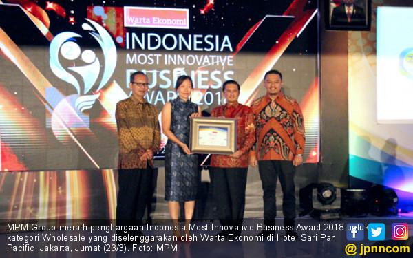 Rajin Berinovasi, MPM Group Sabet Penghargaan Bergengsi - JPNN.COM