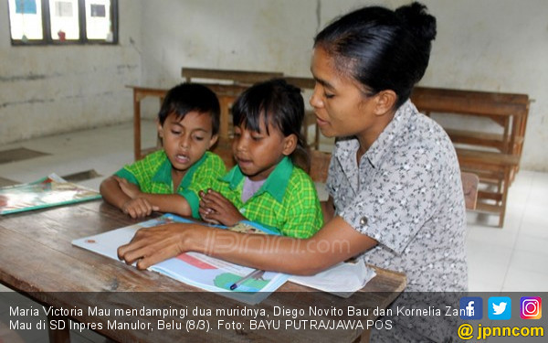 Satu Kelas 2 Siswa, tak Tahu Presiden RI Bernama Jokowi - JPNN.COM