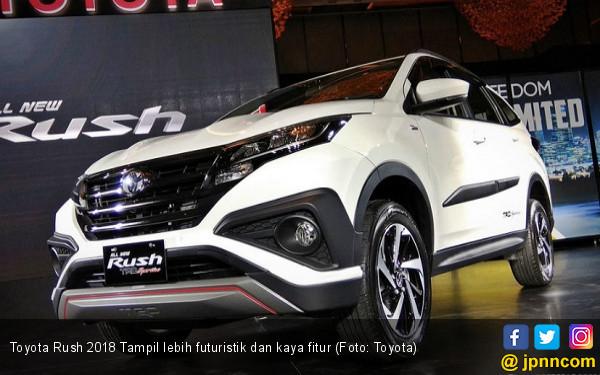 Toyota Rush dan Fortuner Tumbuh Positif di Kuartal I 2018 - JPNN.COM