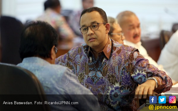 Anies Minta Pendatang Imunisasi Vaksin Sebelum Masuk Jakarta - JPNN.com