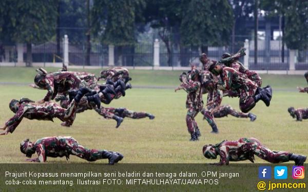 OPM Menantang, Ryamizard: Ya Perang Saja, Perang Saja - JPNN.com