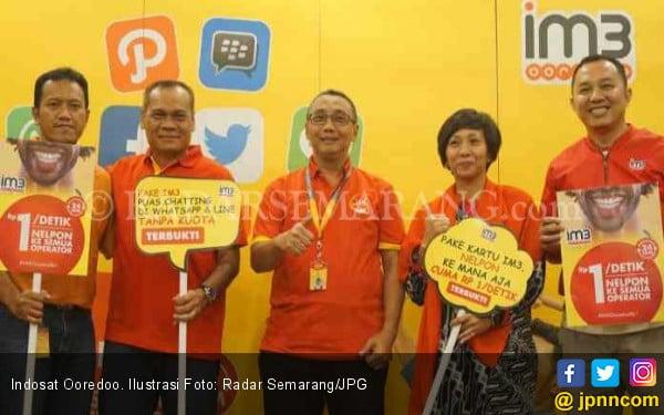 Kinerja Keuangan Indosat Ooredoo, 3 Tahun Tumbuh Positif