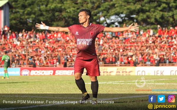 PSM Siapkan Ferdinand Sinaga, Sandro Dicadangkan - JPNN.COM