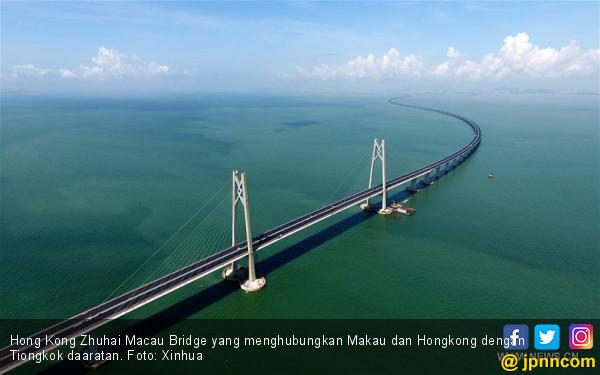 Tiongkok Siap Resmikan Jembatan di Atas Laut China Selatan - JPNN.com