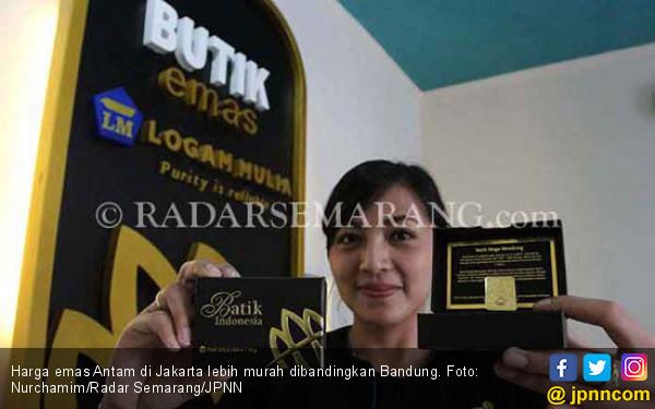 Perbandingan Harga Emas Di Jakarta Dan Bandung Hari Ini Ekonomi