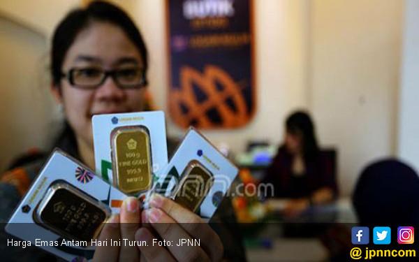 Harga Emas Antam Hari Ini Sudah Mencapai Rp 809.000 per Gram - JPNN.com
