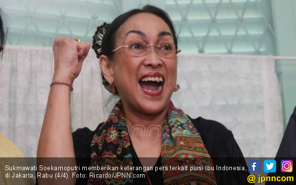 Sukmawati Soekarnoputri Pindah Agama, Inilah Proses yang Harus Dilaluinya - JPNN.com