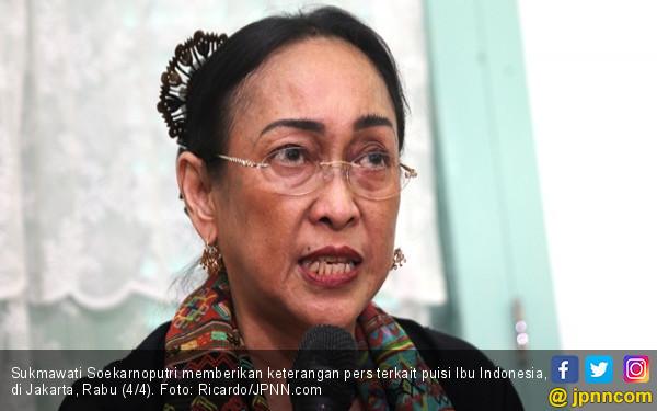 Didampingi Habib Novel, Ratih Laporkan Sukmawati Soekarnoputri ke Polisi - JPNN.com