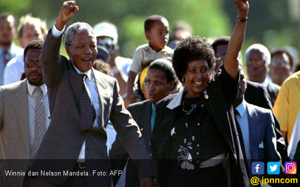 Mengenang Winnie Madikizela Mandela, Ibu Bangsa Afsel
