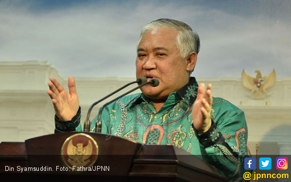 Muhammadiyah Bela Din Syamsuddin, Begini Rencananya Ladeni GAR ITB - JPNN.com