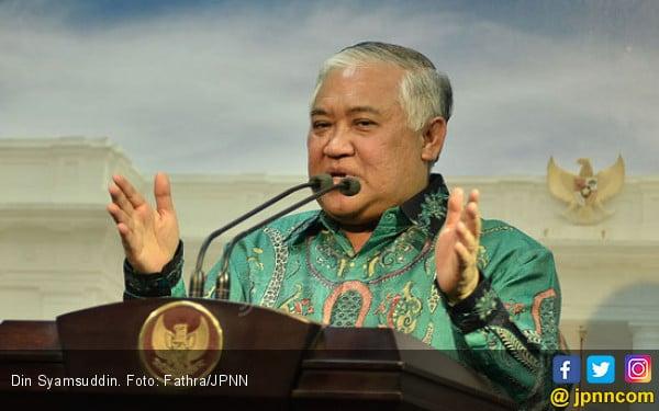 Din Syamsuddin Minta Muhammadiyah Ikut Mengautopsi Immawan Randi - JPNN.com
