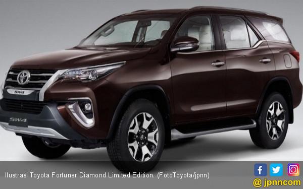Toyota Fortuner Diamond Gagah di Dua Alam - JPNN.com