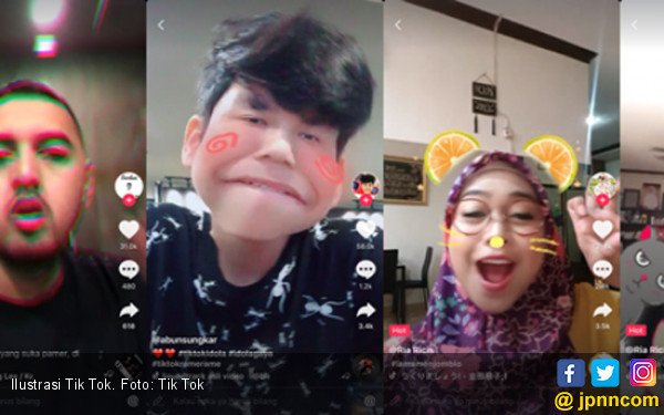 Video Pendek Tik Tok Booming di Indonesia dan Asia - JPNN.COM